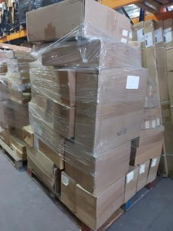 PALLET LIQUIDATION SALE - OVER 300 PALLETS TO INCLUDE: TOOLS, WORK WEAR, HOMEWARES, CATERING GOODS, ELECTRICALS, APPLIANCES, TOYS & MUCH MORE