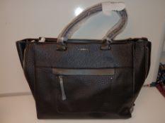 2 X BRAND NEW FIORELLI ANNA TOTE LARGE BAG CASUAL GRAIN (6470)RRP £65 P1-6