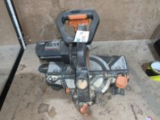 EVOLUTION 210MM MULTI MATERIAL CUTTING MITRE SAW COMES WITH BOX (UNCHECKED, UNTESTED) PCK