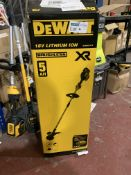DEWALT DCM561P1S-GB 18V 5.0AH LI-ION XR BRUSHLESS CORDLESS OUTDOOR TRIMMER COMES WITH BOX (