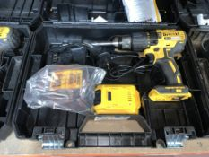 DEWALT DCD778M2T-SFGB 18V 4.0AH LI-ION XR BRUSHLESS CORDLESS COMBI DRILL COMES WITH BATTERY, CHARGER