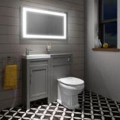 New 600x1000 Nova Illuminated Led Mirror. Rrp £499.99.Ml7006.We Love This Mirror As It Provid. ..