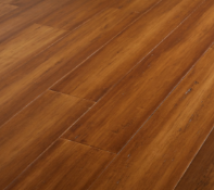 NEW PACKAGED 5.01m2 OF PATTAYA BAMBOO TOP LAYER FLOORING. VARNISHED. SUITABLE FOR UNDERFLOOR