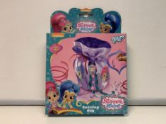 36 X NEW BOXED NICKELODEON SHIMMER & SHINE DAZZLING TOTUM BAGS