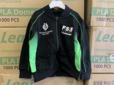 (NO VAT) 20 X BRAND NEW OFFICIAL KAWASAKI RACE TEAM BABY JACKETS SIZE 18-24 MONTHS S2
