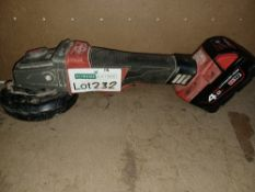 """MILWAUKEE M18 CAG115XPDB-0 FUEL 18V LI-ION 4½"""" BRUSHLESS CORDLESS ANGLE GRINDER - BARE COMES WITH"""
