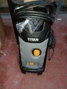 TITAN TTB1800PRW 140BAR ELECTRIC HIGH PRESSURE WASHER 1.8KW 230V COMES WITH BOX (UNCHECKED,