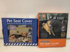 18 X BRAND NEW PET SEAT COVERS PCK