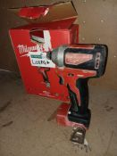 MILWAUKEE M18 CBLID-0 18V LI-ION BRUSHLESS CORDLESS IMPACT DRIVER COMES WITH BOX (UNCHECKED,