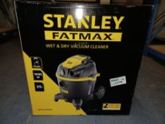 STANLEY FATMAX WET AND DRY VACUUM CLEANER COMES WITH BOX (UNCHECKED, UNTESTED) AO