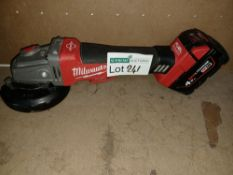 "MILWAUKEE M18 CAG115XPDB-0 FUEL 18V LI-ION 4½"" BRUSHLESS CORDLESS ANGLE GRINDER - BARE UNCHECKED/"