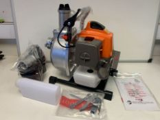 BRAND NEW BOXED PROGEN 2 IN 1 63CC PETROL WATER PUMP. RRP £250 (ROW17)