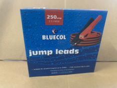 10 X BRAND NEW BLUECOL 250 AMP JUMP LEADS S1