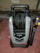 TITAN TTB2200PRW-DSS 150BAR ELECTRIC HIGH PRESSURE WASHER 2.2KW 230V (UNCHECKED, UNTESTED) PCK