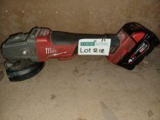 "MILWAUKEE M18 CAG115XPDB-0 FUEL 18V LI-ION 4½"" BRUSHLESS CORDLESS ANGLE GRINDER - BARE WITH 1"