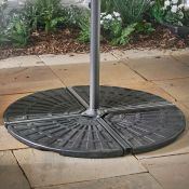 2 Pack Banana Parasol Base. (REF064) Great, you've bought a quality parasol to enjoy the summer in