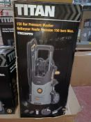 TITAN TTB2200PRW 150BAR ELECTRIC HIGH PRESSURE WASHER 2.2KW 230V COMES WITH BOX (UNCHECKED,