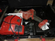 MILWAUKEE M18 FHZ-0 FUEL 18V LI-ION BRUSHLESS CORDLESS HACKZALL RECIPROCATING SAW - BARE - COMES