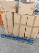 (Z130) PALLET TO CONTAIN 8 x NABIS CENTURY CLOSE COUPLED PANS
