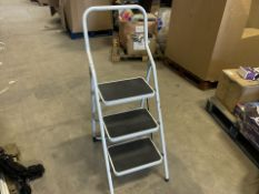 PALLET TO CONTAIN 12 X SETS OF ZARGES 150KG 3 STEP FOLDING LADDERS (S2)