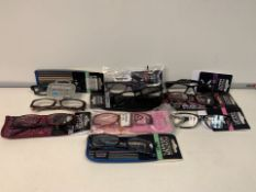PALLET TO CONTAIN 300 x NEW PACKAGED PAIRS OF ASSORTED FOSTER GRANTS READING GLASSES. ASSORTED