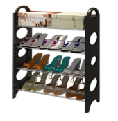PALLET TO CONTAIN 36 X NEW BOXED PROGEN LUXURY 4 TIER/LAYER SHOE RACKS. RRP £27.99 EACH