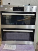 AEGAEG DUB331110M Built Under Electric Double Oven - Stainless Steel - A/A Rated £650 BU 60CM DBL
