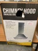Zanussi ZHC60156X 60cm Chimney Hood - St/Steel RRP £152