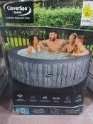 BOXED CleverSpa Waikiki 6 Person Hot Tub. RRP £481. UNCHECKED/UNTESTED.