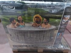 BOXED CleverSpa Waikiki 7 person Hot tub. RRP £874. UNCHECKED/UNTESTED.