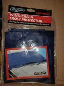 30 X NEW EQUIP WINDSCREEN FROST PROTECTORS 100% NYLON - U2