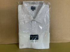 33 X BRAND NEW PHOENIX WHITE SHIRTS IN VARIOUS SIZES R15