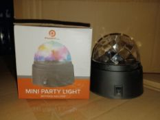 90 X POWERFULL MINI PARTY LIGHTS (PLEASE NOTE THESE ARE CUSTOMER RETURNS) R19