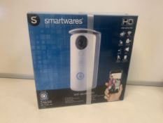 2 X BRAND NEW BOXED SMARTWARES WIFIDOOR BELL HD. NIGHT VIEW, WIFI, DOORLOCK FUNCTION, INDOOR &