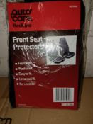 40 X AUTOCRE FRONT SEAT PROTECTORS, WASHABLE, EASY TO FIT, UNIVERSAL FIT - U2