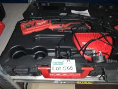 MILWAUKEE 12V 2.0AH LI-ION REDLITHIUM CORDLESS PIPE CUTTER COMES WITH CHARGER AND CARRY CASE