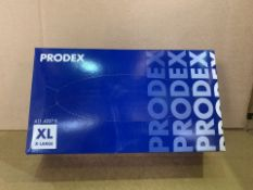 20 X PACKS OF 100 PRODEX VINYL DISPOSABLE POWDER FREE GLOVES (SIZES MAY VARY) (ROW16)