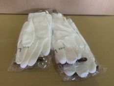 80 X BRAND NEW PAIRS OF KLASS DEL 499 WORK GLOVES (SIZES MAY VARY) R15 P