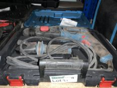 ERBAUER ERH750 3.4KG ELECTRIC SDS PLUS DRILL 220-240V COMES WITH CARRY CASE (UNCHECKED, UNTESTED)