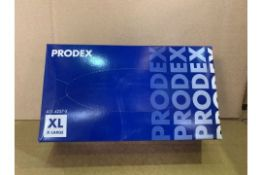 20 X PACKS OF 100 PRODEX VINYL DISPOSABLE GLOVES (SIZES MAY VARY) R15