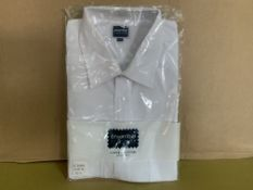38 X BRAND NEW PHOENIX WHITE SHIRTS IN VARIOUS SIZES R15
