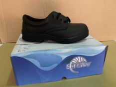 10 X BRAND NEW SAFEWAY PROFESSIONAL SAFETY SHOES SIZE 42 R15