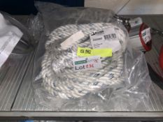 BRAND NEW MILLER BY HONEYWELL ANCHORAGE LINE 14MM/30M RRP £130 BW