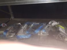 5 PIECE SAFETY LOT INCLUDING SHOCK ABSORBERS LANYARDS ETC