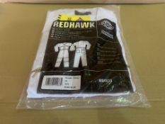 7 X BRAND NEW DICKIES REDHAWK WHITE COVERALLS (SIZES MAY VARY) R15 P