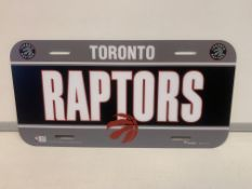 20 X BRAND NEW OFFICIAL NBA USA CAR NUMBER PLATES R15