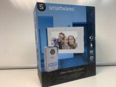 SMARTWARES 2 WAY SPEECH TOUCH BUTTON VIDEO INTERCOM SYSTEMS
