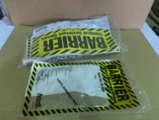 60 X BRAND NEW ANSELL CHEMICAL RESISTANT GLOVES R15 L