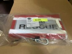 2 X BRAND NEW ROPE BAG RESCUE LOGO RRP £110 EACH BW