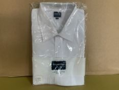 42 X BRAND NEW PHOENIX WHITE SHIRTS IN VARIOUS SIZES R15